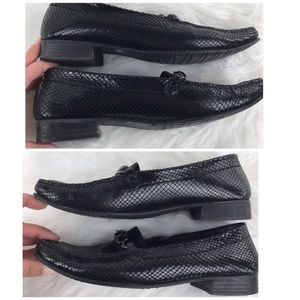 Stuart Weitzman Shoes - Stuart Weitzman Jeweled Black Loafers 8.5